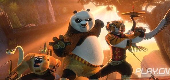 《功夫熊猫3》黑白胖子阿宝要结婚了?