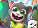 《汤姆猫跑酷》试玩:萌萌的公路跑酷大追捕!