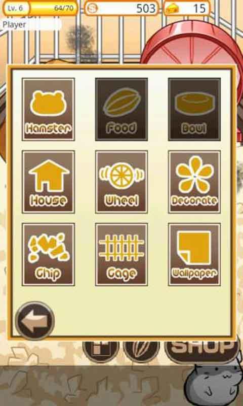 《仓鼠的日常 hamster life》是一款养可爱小仓鼠的养成游戏.